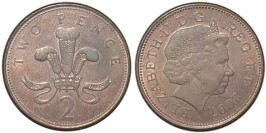 2 пенса 2007 Великобритания