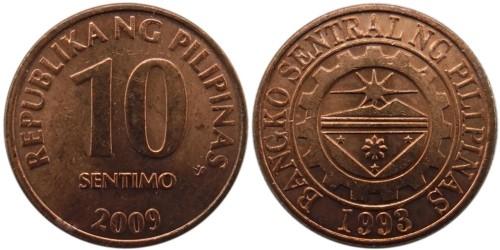 10 сентимо 2009 Филиппины