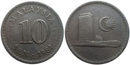 10 сен 1981 Малайзия