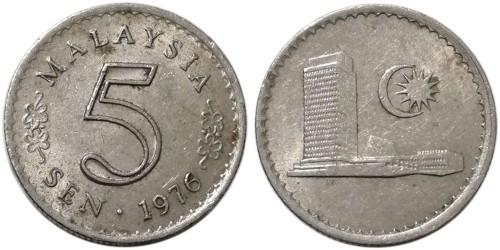 5 сен 1976 Малайзия