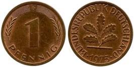 1 пфенниг 1973 «D» ФРГ