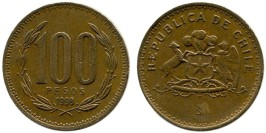 100 песо 1998 Чили