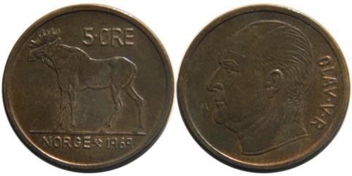 5 эре 1969 Норвегия