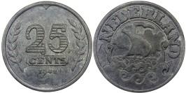 25 центов 1941 Нидерланды