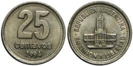 25 сентаво 1994 Аргентина