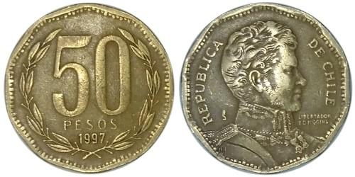 50 песо 1997 Чили