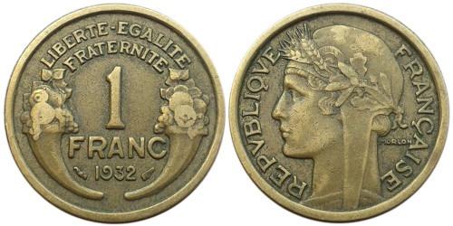 1 франк 1932 Франция
