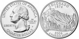 25 центов 2006 P США — Колорадо — Colorado UNC