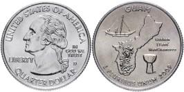 25 центов 2009 D США — Гуам — Guam UNC