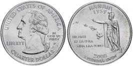 25 центов 2008 P США — Гавайи — Hawaii
