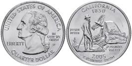25 центов 2005 D США — Калифорния — California