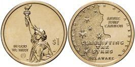 1 доллар 2019 D США UNC — Американские инновации — Классификация звезд — Энни Джамп Кэннон