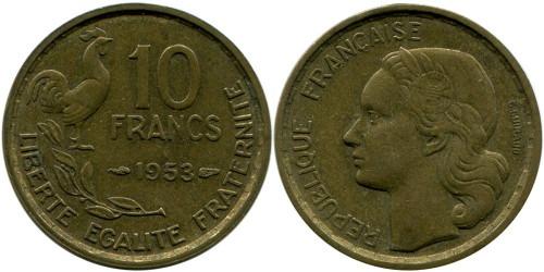 10 франков 1953 Франция