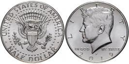 50 центов 2019 P США UNC