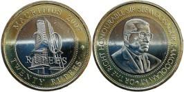 20 рупий 2007 Маврикий — 40 лет Банку Маврикия