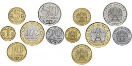 Казахстан — набор из 6-ти монет UNC