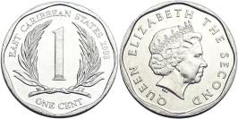 1 цент 2008 Восточные Карибы