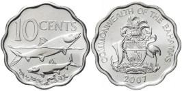 10 центов 2007 Багамские Острова