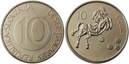10 толаров 2006 Словения