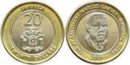 20 долларов 2001 Ямайка