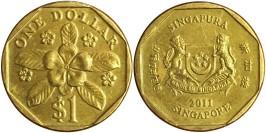 1 доллар 2011 Сингапур