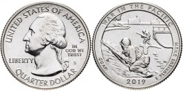 25 центов 2019 S США — Национальный исторический парк Войны в Тихом океане Гуам — Guam UNC