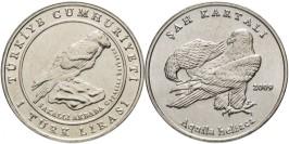 1 лира 2009 Турция — Орел