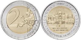 2 евро 2007 «F» Германия — Шверинский Замок, Мекленбург-Передняя Померания