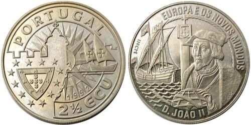 2½ ЭКЮ 1992 Португалия