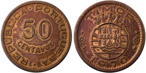 50 сентаво 1970 Португальский Тимор
