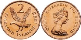 2 пенса 1998 Фолклендские острова UNC
