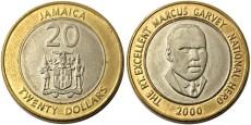 20 долларов 2000 Ямайка
