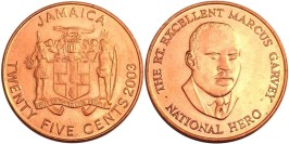 25 центов 2003 Ямайка