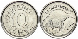 10 крузейро 1994 Бразилия UNC