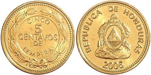 5 сентаво 2006 Гондурас UNC