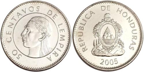 50 сентаво 2005 Гондурас UNC