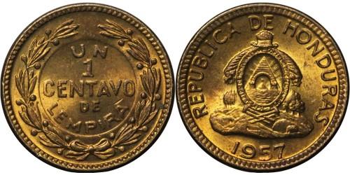 1 сентаво 1957 Гондурас UNC