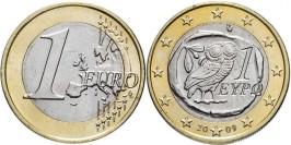 1 евро 2009 Греция UNC