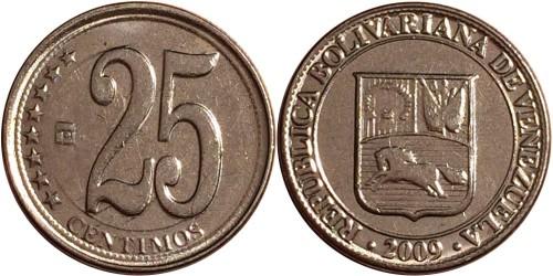 25 сентимо 2009 Венесуэла