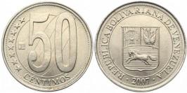 50 сентимо 2007 Венесуэла UNC
