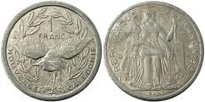 1 франк 2009 Новая Каледония