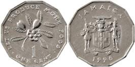 1 цент 1996 Ямайка