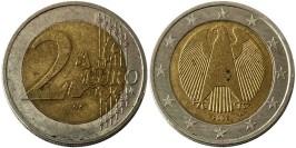 2 евро 2002 «А» Германия