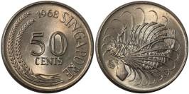 50 центов 1968 Сингапур