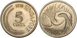 5 центов 1976 Сингапур