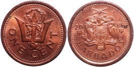 1 цент 2006 Барбадос