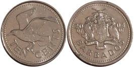 10 центов 2004 Барбадос