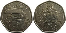 1 доллар 2004 Барбадос