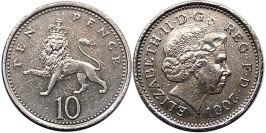10 пенсов 2001 Великобритания