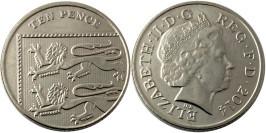 10 пенсов 2014 Великобритания